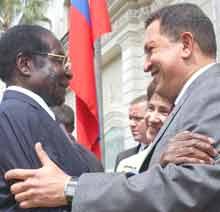 Chavez och Mugabe